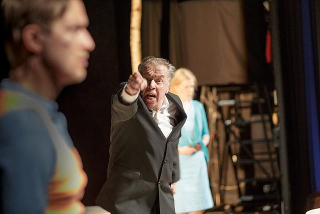 Vanja-eno Goes to Riihimäki Region ©Uupi Tirronen; Riihimäen teatteri